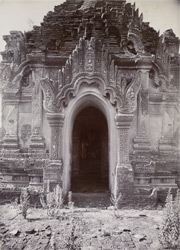 Arched doorway of the Kondawgyi Pagoda, [Pagan].